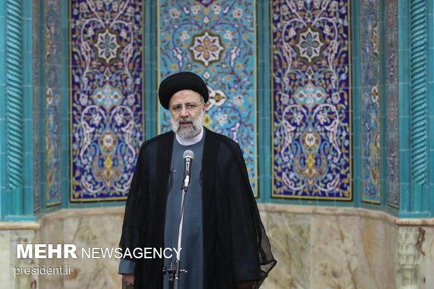 حجتالاسلام رئیسی وارد تهران شد