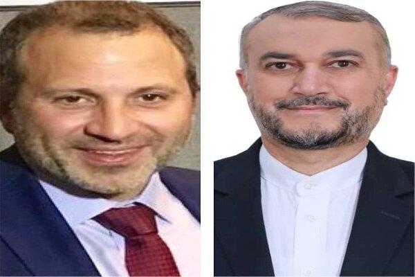 Emir Abdullahiyan ve Lübnan Eski Dışişleri Bakanı telefonda görüştü