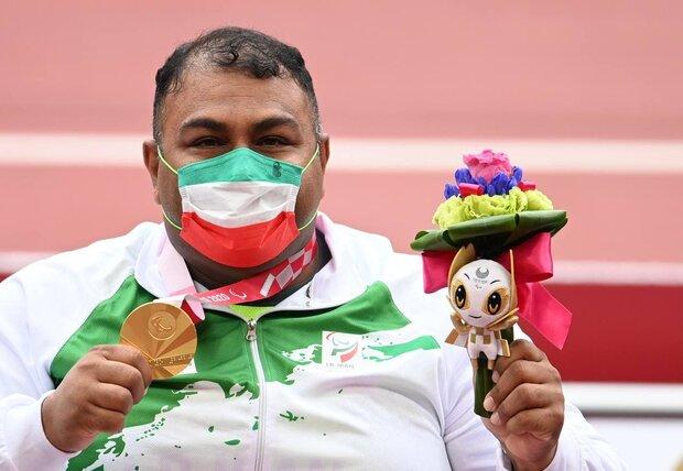 İran Paralimpik'te 10. altın madalyasını kazandı