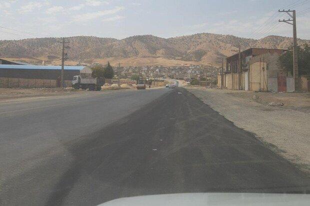 مسیر دسترسی به شهرک شهید کشوری ایلام در حال بهسازی است