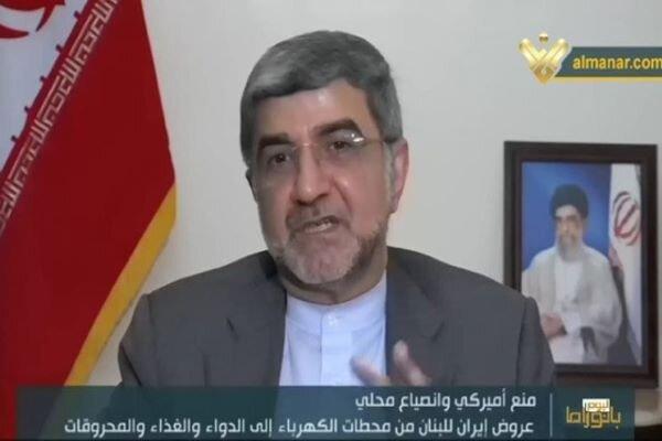 Tehran not allow anyone to interfere oil shipment to Lebanon