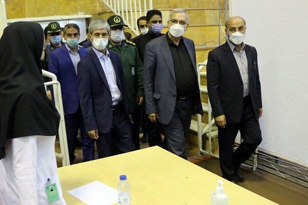 وزير الصحة الايراني: عملية التطعيم تتخذ وتيرة اسرع