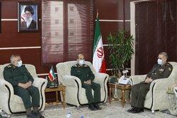 لقاء قادة الحرس الثوري مع وزير الدفاع