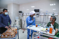 نذر دانشجویان برای بیماران کرونایی