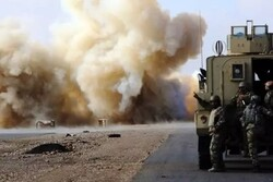 US limitary logistic convoy attacked in Iraq's Babylon prov.
