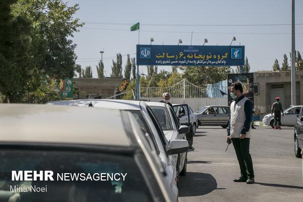 واکسیناسیون عمومی خودرویی سپاه عاشورا در تبریز