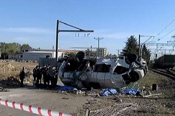 Tekirdağ'da yük treni minibüse çarptı: 6 ölü