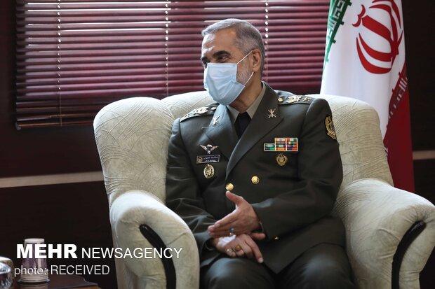 امیر سرتیپ محمدرضا آشتیانی وزیر دفاع و پشتیبانی نیروهای مسلح