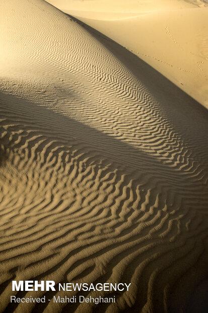 A lake in heart of desert