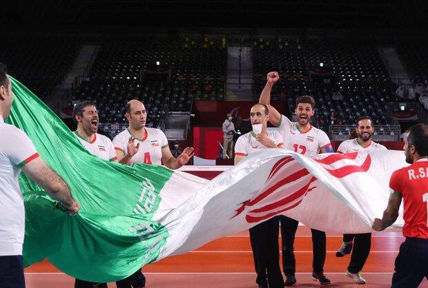 """المنتخب الايراني للكرة الطائرة يحرز بطولة باراولمبياد """"اليابان"""""""