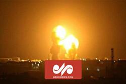 VIDEO: Yemeni missile attack on eastern Saudi Arabia