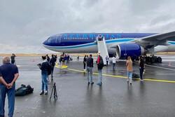Karabağ'ın ilk havalimanı Fuzuli'ye test uçuşu gerçekleştirildi