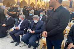 قائد فيلق القدس يشارك شخصيا في مجلس عزاء المرجع الحكيم