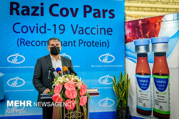 20mn doses of Razi 'Cov Pars' vaccine to be produced by Dec.