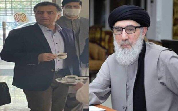 کابل میں پاکستانی خفیہ ایجنسی کے سربراہ کی گلبدین حکمتیار سے ملاقات