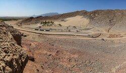 کوه ریگ مهریز در آستانه خط پایان