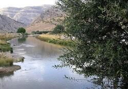 کاهش ۵۰ درصدی میزان روان آب رودخانه گاماسیاب