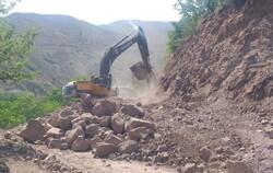 پیشرفت ۶۵ درصدی پروژه بهسازی راه خوران - اهوارک طالقان