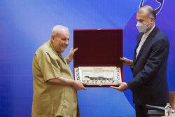 نشست وزیر امور خارجه ایران با روسای نمایندگی های سیاسی مقیم تهران