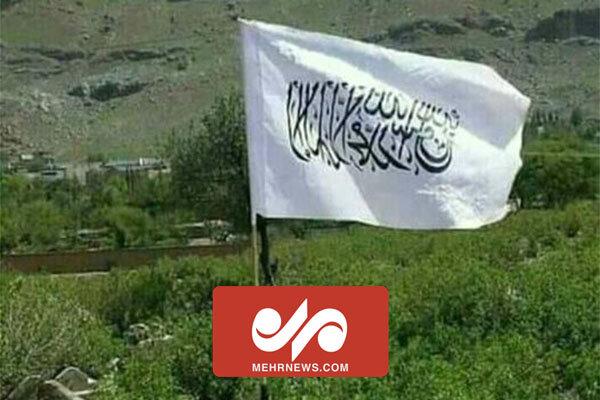 Pençşir'de Taliban bayrağı göndere çekildi