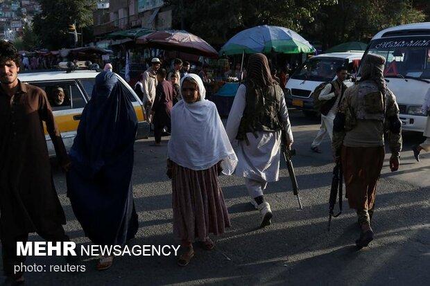 در خیابانهای کابل