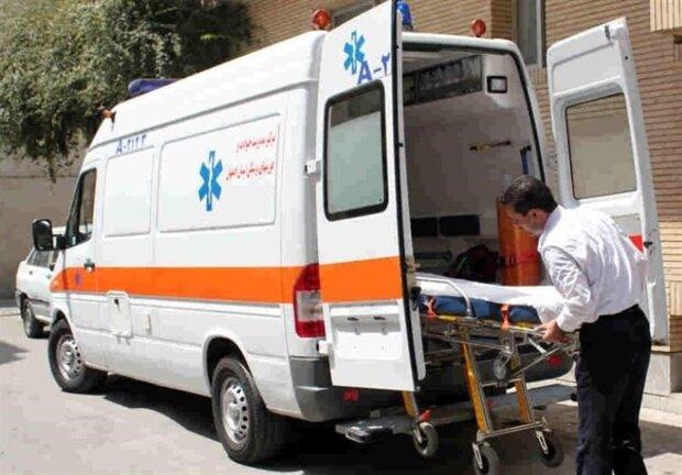 ۷ نفر در حادثه ترافیکی باغ بهادران مصدوم شدند