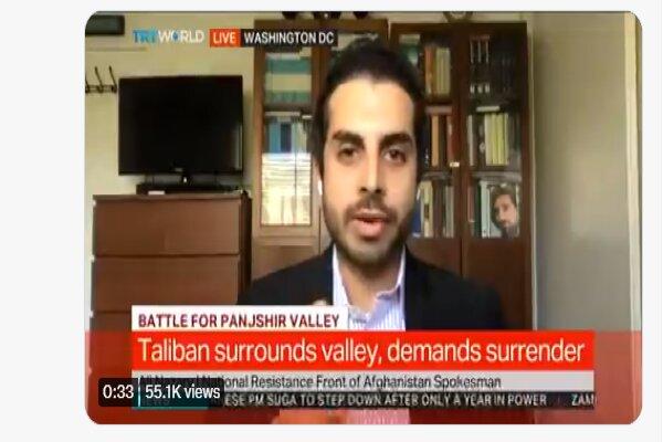 Afghan NRF refutes Taliban claim over Panjshir control