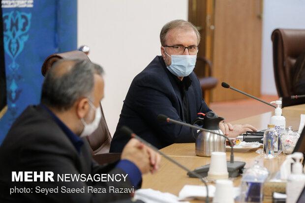 حضور حسین ذوالفقاری رییس ستاد اربعین در محل  جلسه ستاد مرکزی اربعین