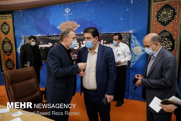 حضور مقامات کشوری در جلسه ستاد مرکزی اربعین