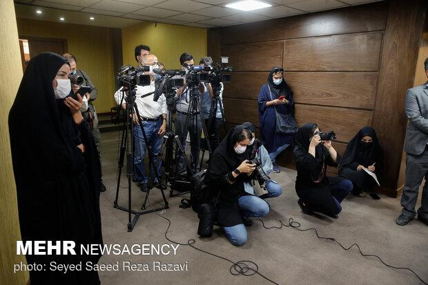 حضور خبرنگاران و عکاسان خبری در جلسه ستاد مرکزی اربعین