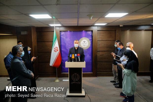 حضور حسین ذوالفقاری رییس ستاد اربعین درجمع خبرنگاران