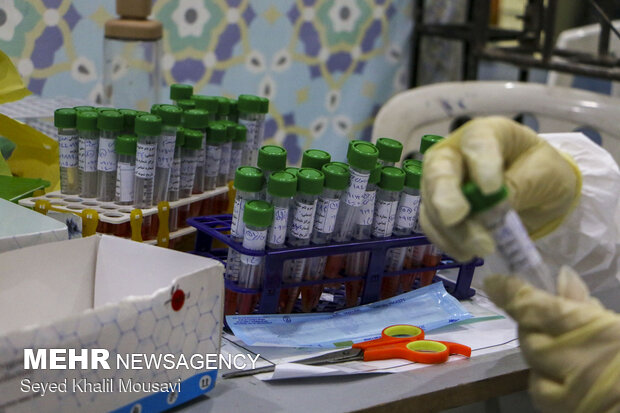 COVID-19 PCR testing in Ahvaz