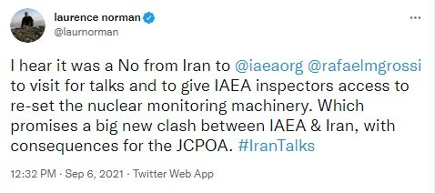 US journalist claims Iran denied IAEA chief a visit to Tehran