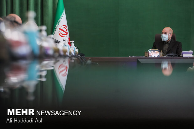 محمد باقر قالیباف رئیس مجلس شورای اسلامی