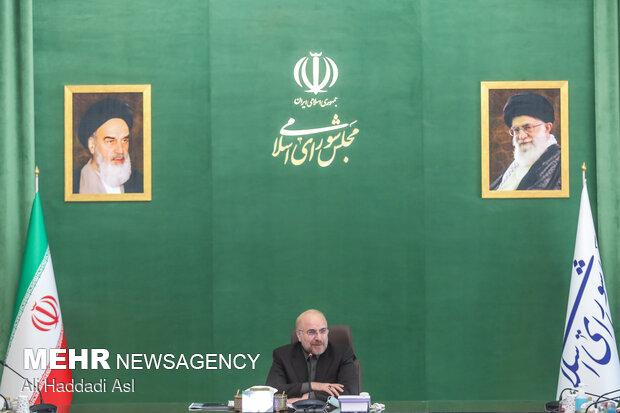 محمدباقر قالیباف رئیس مجلس شورای اسلامی ایران
