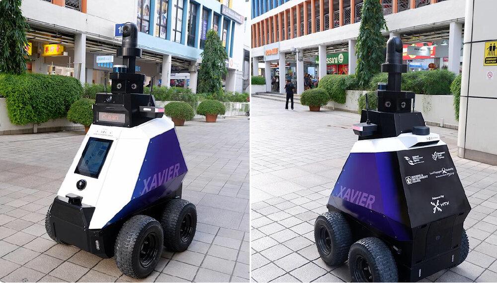 رباتی که رفتارهای غیرقانونی را ردیابی می کند
