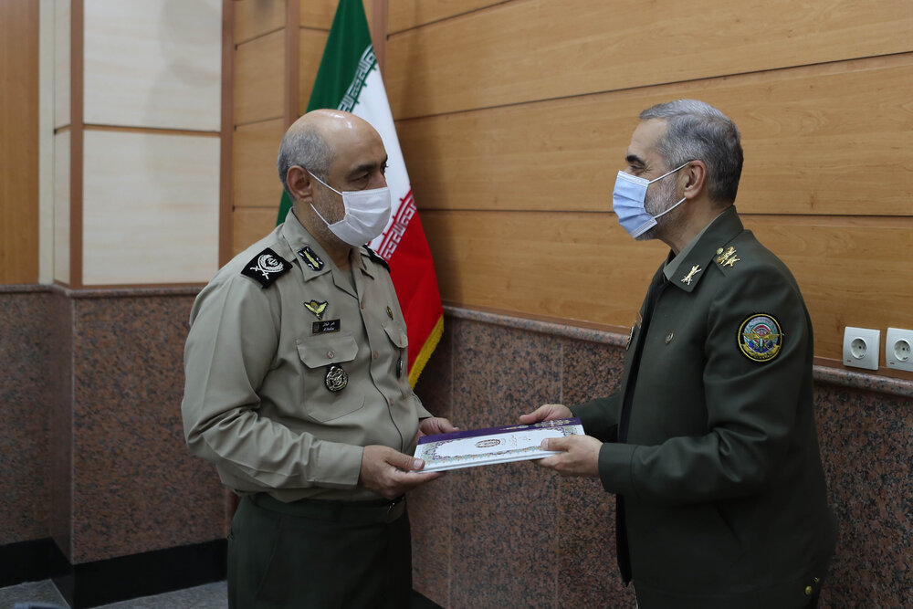 دو انتصاب جدید در وزارت دفاع/ امیر«شهلایی» معاون پارمانی شد