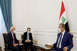 مسئول سیاست خارجی اتحادیه اروپا با مقامات عراق دیدار و رایزنی کرد
