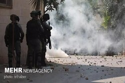 Zionist military forces attack Palestinians in West Bank
