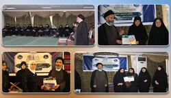 برگزاری اختتامیه دوره آموزشی قرائت قرآن در حرم مطهر حضرت زینب (س)