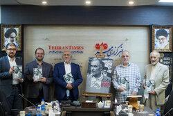 مراسم رونمایی از کتاب عراقی را بکش در خبرگزاری مهر