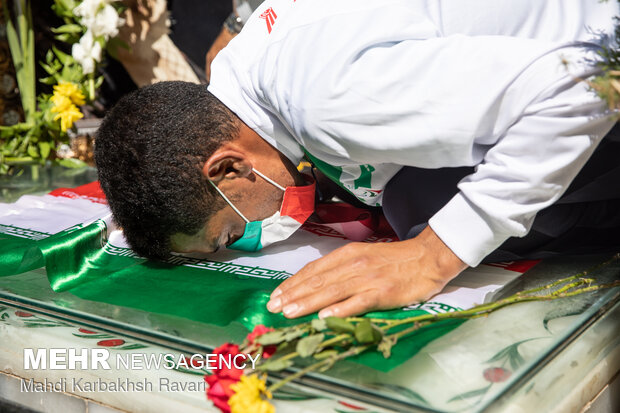 Tokyo Paralympic champion pays tribute to martyr Soleimani