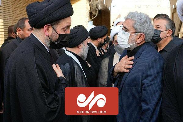 Tuğgeneral Kaani'den Ayetullah Hekim ailesine taziye ziyareti
