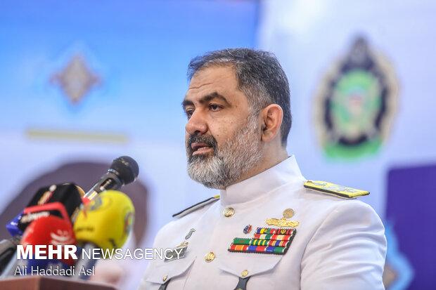 امیردریا دار شهرام ایرانی فرمانده نیروی دریایی ارتش جمهوری اسلامی ایران