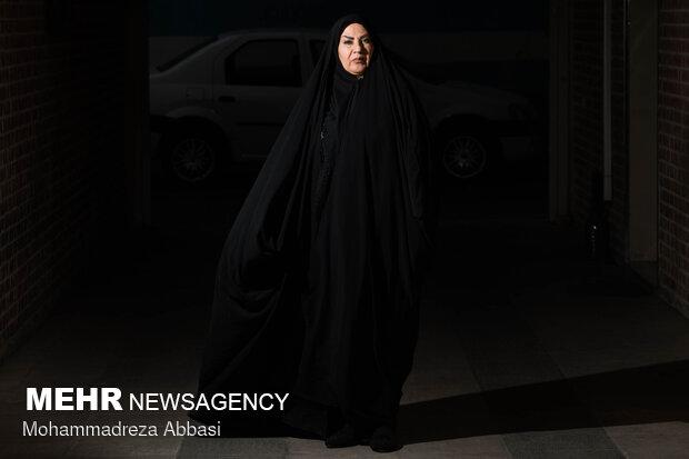 نسرین باقرزاده نویسنده کتاب ساجی در خبرگزاری مهر حضور یافت
