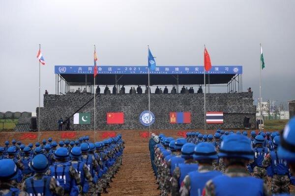 China organizes international peacekeeping drill