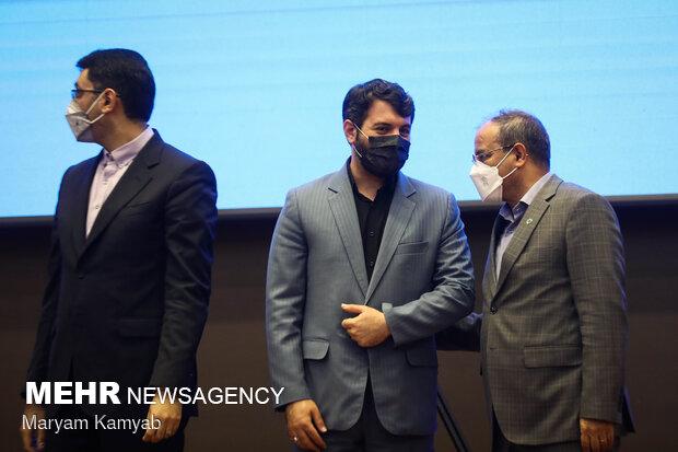 حجت اله عبدالملکی وزیر تعاون، کار و رفاه اجتماعی در مراسم تقدیر از تعاونی های برتر ملی