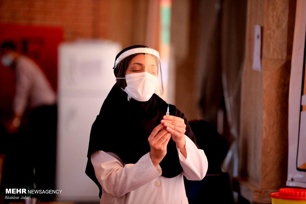 بیش از ۶۰درصد جمعیت هدف در سنقر و کلیایی واکسینه شدند