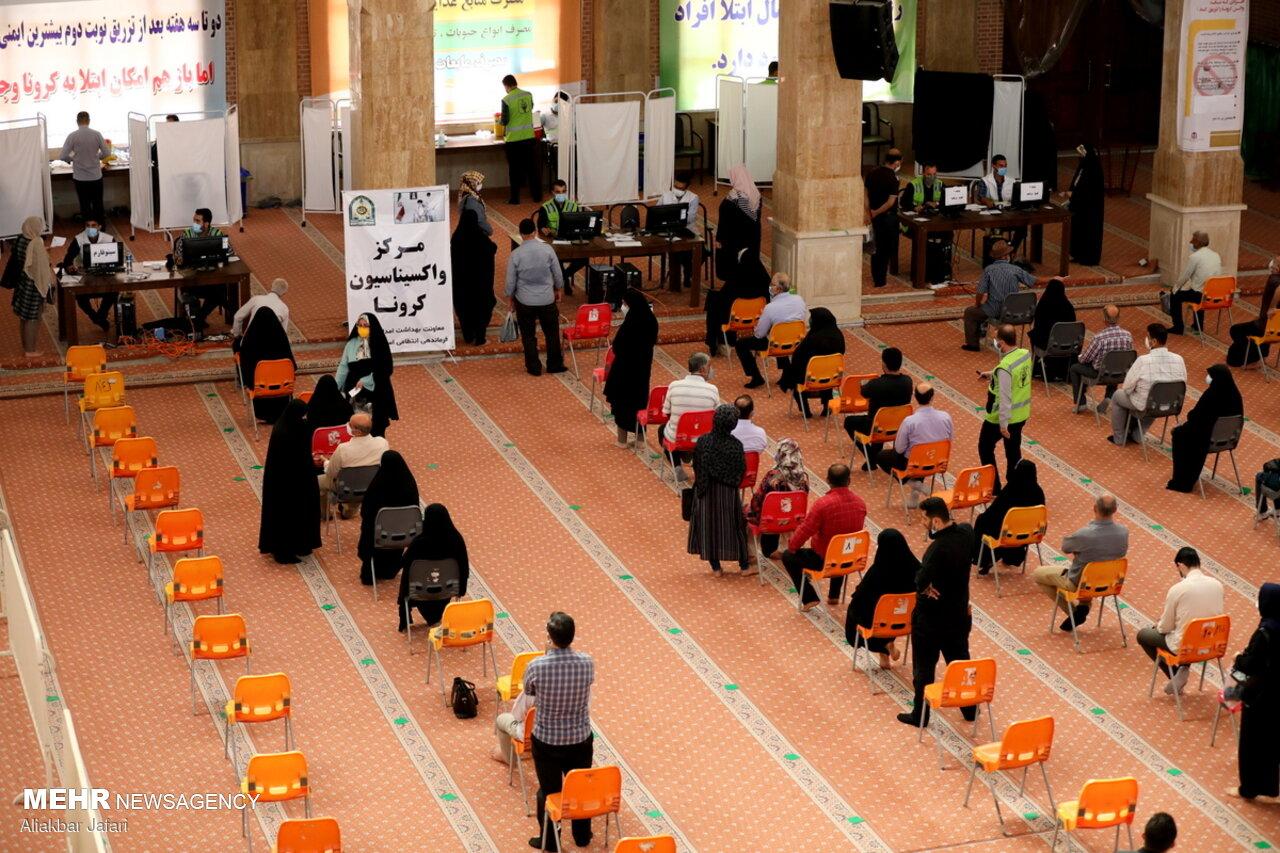 مراکز ۱۵گانه تجمیعی واکسیناسیون در کرمانشاه فعال است