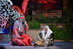 Ta'zieh performance underway in Hozeh Honari